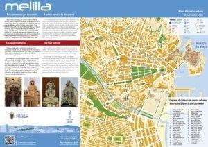 Mapa de Melilla: un mundo por descubrir