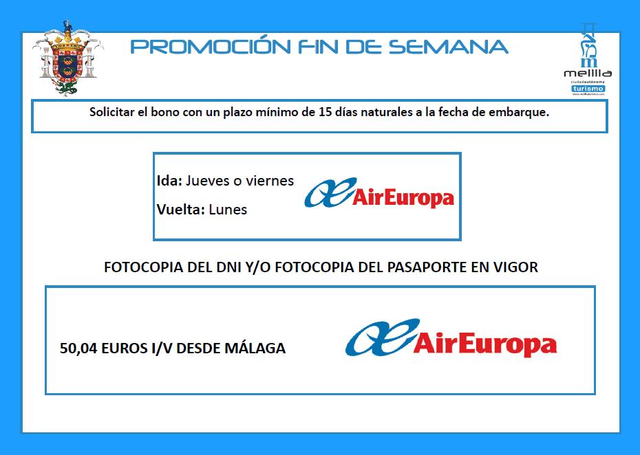 Air europa fin de semana