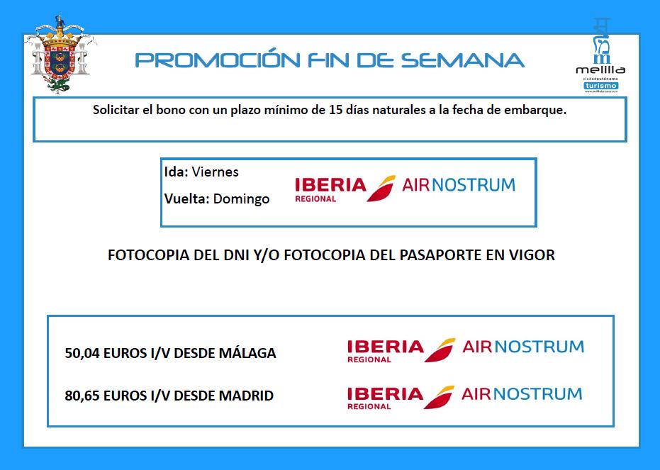 Iberia fin de semana