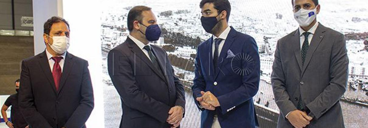 Melilla presenta en Fitur el proyecto de un nuevo hotel, 'Mar de Alborán'